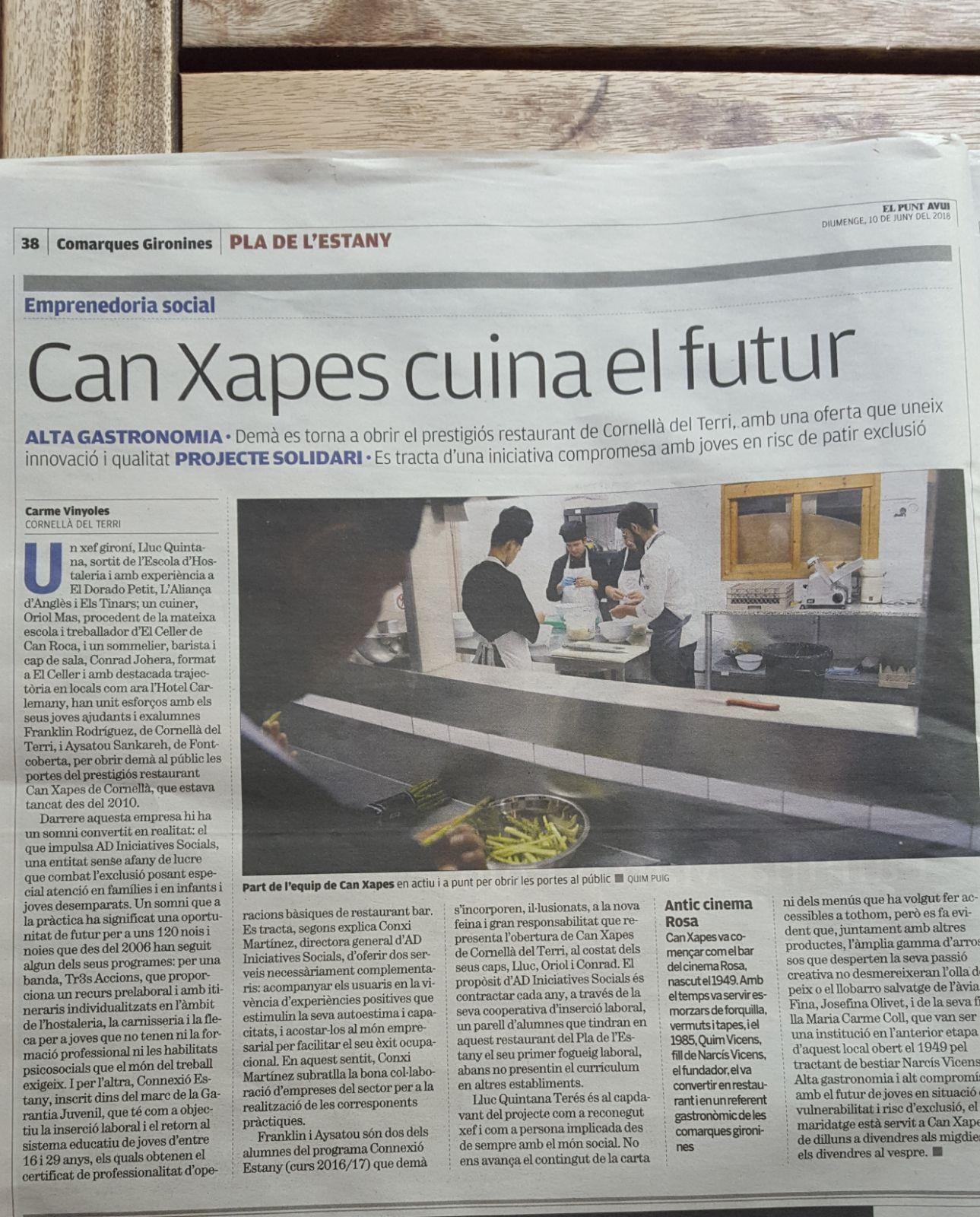 Can Xapes - Premsa